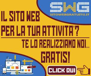 sito web realizzato gratis